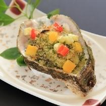 【夏の焼物】夏牡蠣 香草パン粉焼き