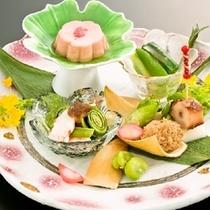 【春の前菜】旬まるごと会席