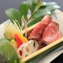 【夏の強肴】冷製『福島牛』マイスター仕立