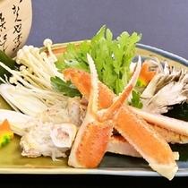 【冬の強肴】ズワイガニすき鍋