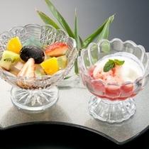 【初夏の甘味】吹き寄せ寒天 アイスクリーム