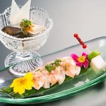 【初夏の会席】酢の物・前菜の一例
