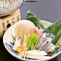 【冬の鍋物】海鮮しゃぶしゃぶ