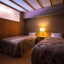 ■和洋室■[ツインベッドルーム]