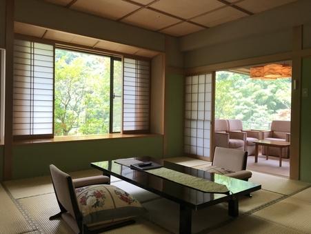 露天風呂付プレミアムルーム12.5畳+6畳(禁煙室)