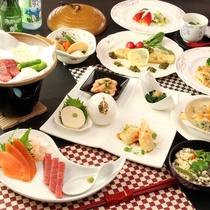 信州の自然の恵みがたくさん詰まった和洋折衷の手料理。