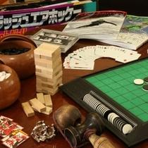 館内_プレイルーム_プレイルームには、大人も楽しめるゲームも。お仲間とご一緒に