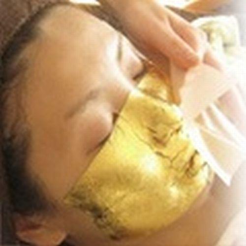 【癒しのとき】 *純金を使用した、究極の肌の若返り 「ふきやGoldフェイシャルトリーメント」