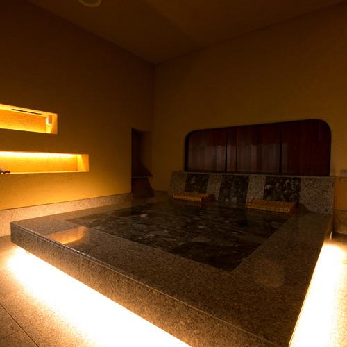 【癒しのとき】 *個室岩盤低温サウナは、ゆったり30〜40分間、お過ごし頂けるよう適度な温度に設定。