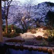 【露天風呂】 *露天風呂からの景色で四季をお感じ頂けます。各季節毎の景色をお楽しみください!