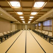 【過ごし方のご提案】 *宴会場(70畳)会議室としてもお使いいただけます。