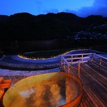 【3階貸切展望露天風呂】柔らかい温泉に身を任せてリラックス