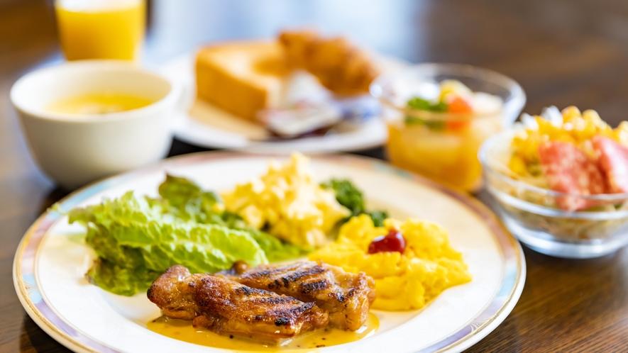 朝食洋食セットメニュー