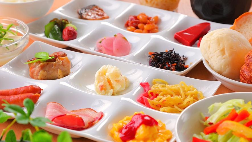 ■朝食バイキング■地元食材をたっぷり使った和洋バイキング♪