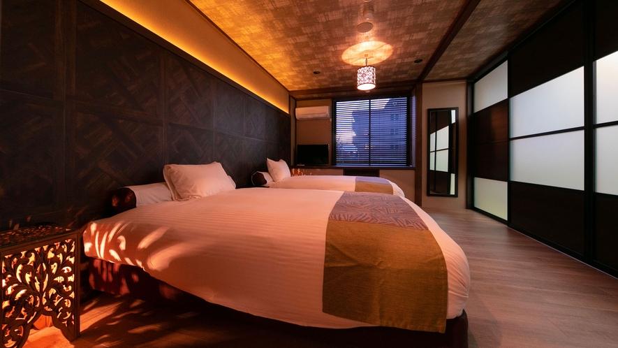 ■リニューアル和洋室■10畳洋室+15畳和室の広々ファミリー向け和洋室