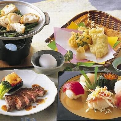 【直営レストラン四季亭DE夕食を!】握り寿司・鍋・季節のお料理◆2食付 車で約3分送迎付◆