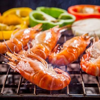 【巡るたび、出会う旅。東北】海鮮料理亭でご夕食!かきや帆立を鉄板焼きで楽しむ!牛タン付 送迎サービス