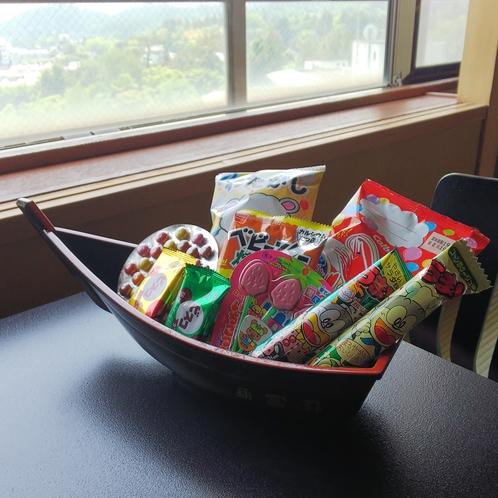 お菓子の船盛
