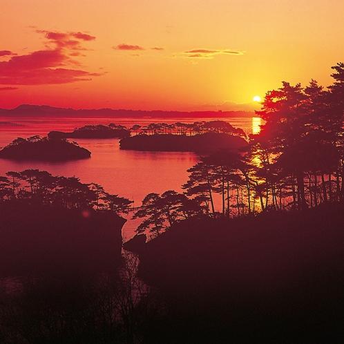 松島湾 夕景