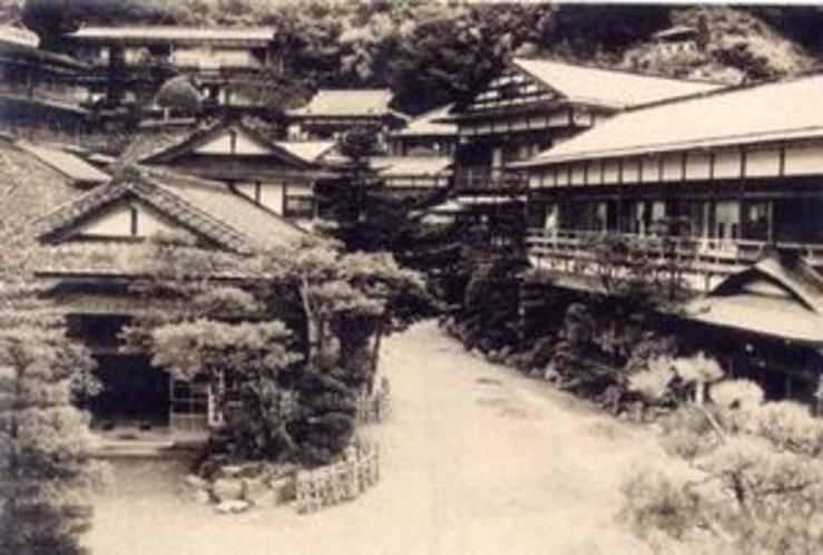 昭和初期の鎌先温泉