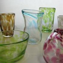ガラス体験作品