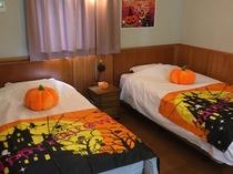 ハロウィンルーム 寝室