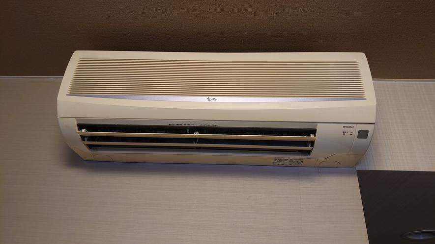 全客室にアエコンを設置しておりますので、快適にお過ごし頂けます。