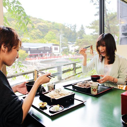 修善寺の美味いモノグルメの一つが蕎麦。