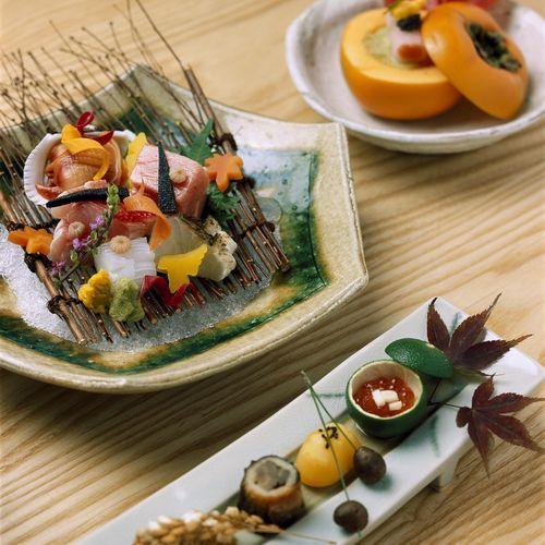 秋のお料理一例