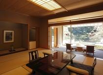 高層階展望風呂テラス付きお部屋(一例)