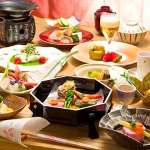 月替わりの会席料理(一例)