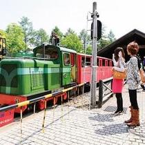 『虹の郷』のロムニー鉄道。