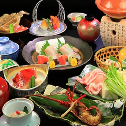 ■伊勢海老のオニガラ焼き料理