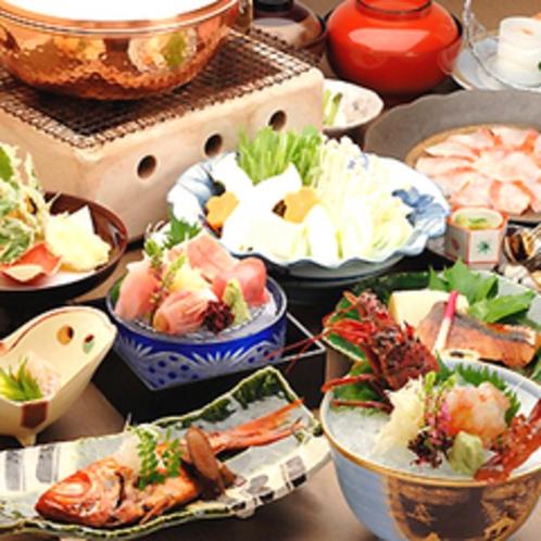 ■伊勢海老料理一例