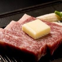 柔らかお肉のステーキ