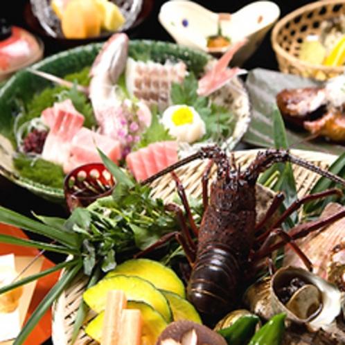 ■海鮮焼き料理一例