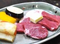 お造りかお肉陶板焼きを選べるプラン♪お肉一例