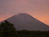 夏の紅富士