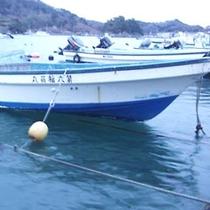 桜荘 美味しいものを獲る 漁船