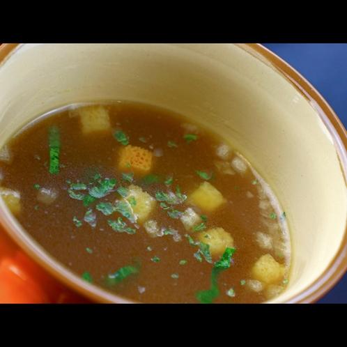 《Break First》朝のホッと一息時間のお供に。温かいスープ