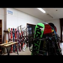 メンテナンスボード・乾燥室