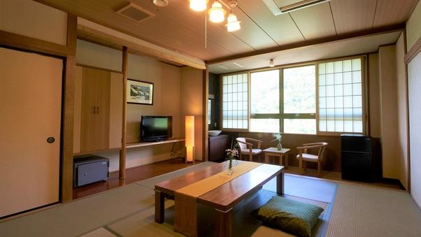 【禁煙】和室10畳(24平米/トイレ付/最大5名)