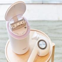 【美容家電】美顔器、ナノドライヤー、日本酒化粧水、マッサージ器などなど。美肌を整えて。