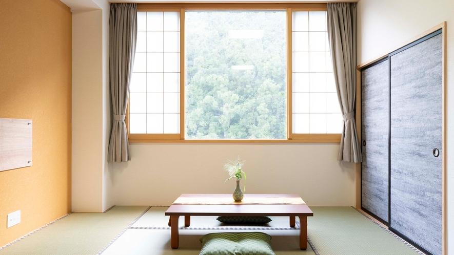 ★【和洋室31平米】森が隣の広々とした和洋室