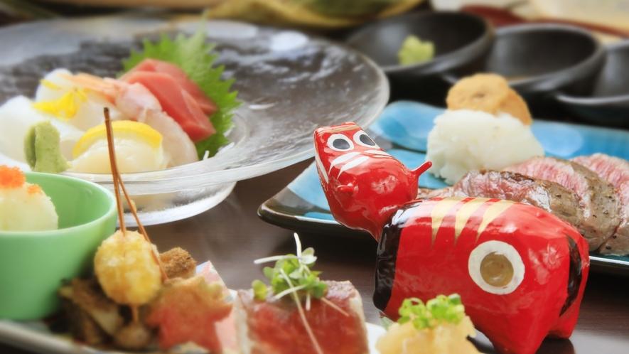 ★【お料理】福島の郷土土産「あかべこちゃん」も食べたいみたい…