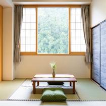 【和洋室31平米】森が隣の広々とした和洋室