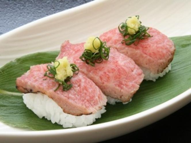 追加注文 前沢牛のにぎり寿司