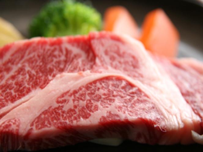 夕食「花巻蔵御膳+前沢牛コース」