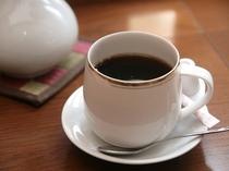 モーニングコーヒーの無料サービス