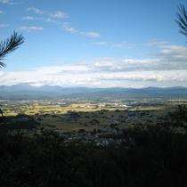 登山コースからの眺め